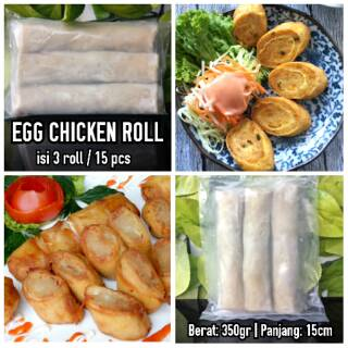 Egg Chicken Roll Bento