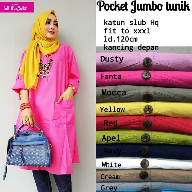 Pocket Jumbo Tunik
