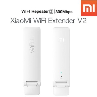Xiaomi Wifi Amplifier Versi 2 300Mbps Signal Repeater Network WIFI Router Extender