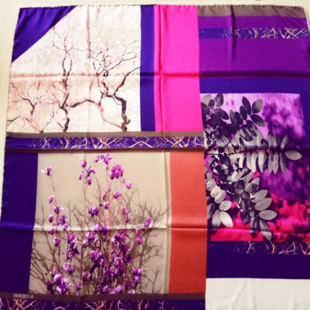 Hijab turki bonjela ori jilbab turki asli premium scarf sutera hijab turki square
