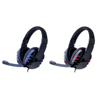 Mediatech Headphone Gaming Zeus MSH 016 + Microphone Pakai Kabel ( 56019 ) - Headphone Gaming