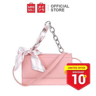 Miniso Official Tas Selempang Rantai Wanita / Sling Bag / Tote Bag / Handbag / Shoulder Bag