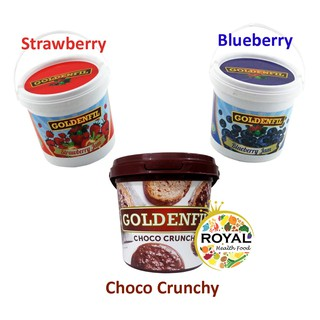 GOLDENFIL 1 KG CHOCO CRUNCHY STRAWBERRY BLUBERRY CHOCOLATE PASTA