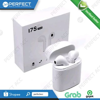 EARPHONE BLUETOOTH I7S TWINS KIRI KANAN