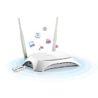 TPLINK TL-MR3420 Wireless 3G / 4G Router 300Mbps 2x Antenna