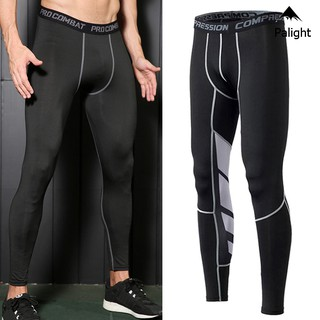 PA Men Compression Pants Sports Leggings Quick Drying Breathable for Running Fitness