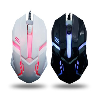 (Garansi 1 tahun) Mouse USB berkabel Wired USB Mouse competitive game notebook light USB Mice