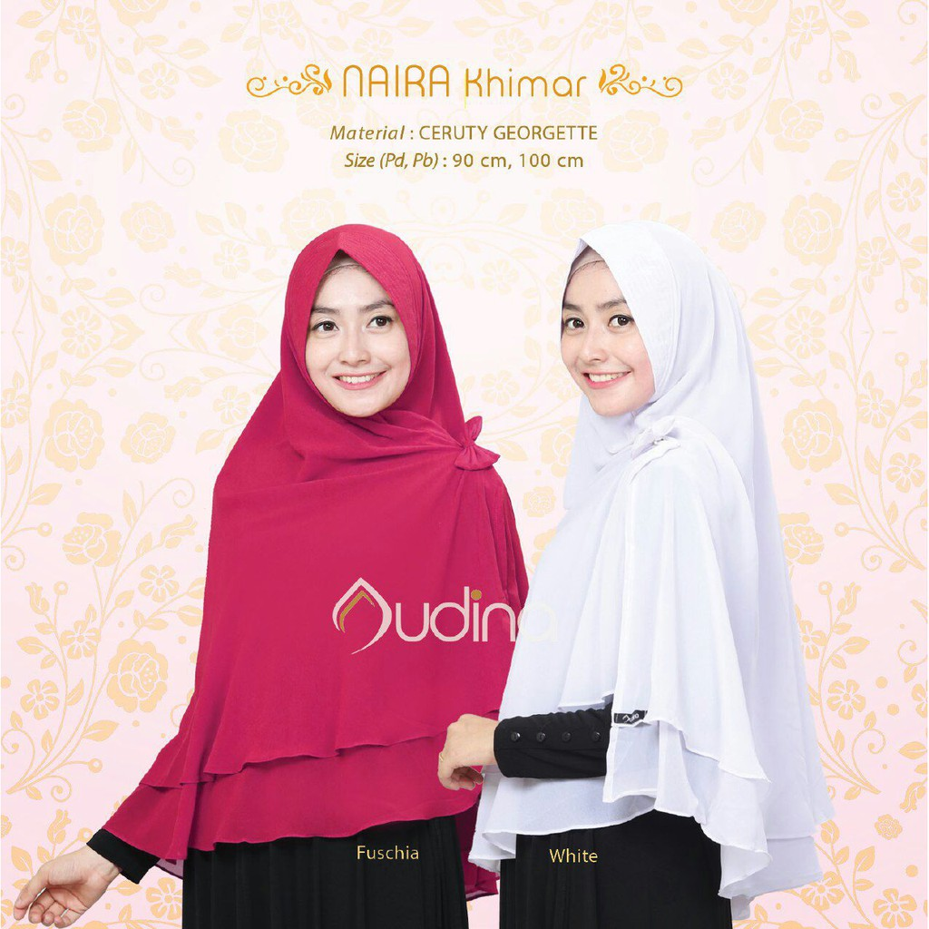 NAIRA KHIMAR by AUDINA Indonesia