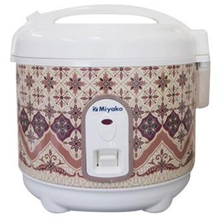 Penanak Nasi Mini Miyako Rice Cooker 0.6 Liter Cook Only PSG607
