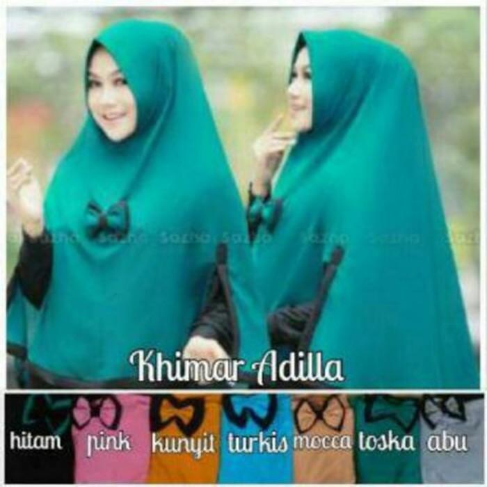 HOT Hijab / Jilbab Instan Syari Khimar Adilla