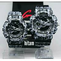 Terbaru jam tangan couple G-Shock casio GA110 batik