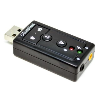 USB Sound Card 7.1 Adapter
