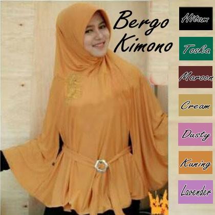 PROMO Jilbab/ Hijab Bergo Kimono MURAH