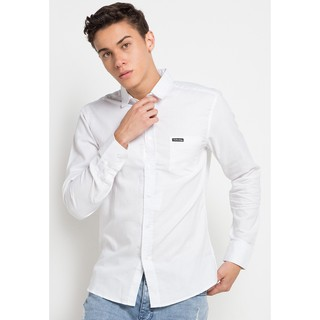 Cottonology Hella Long White Shirt