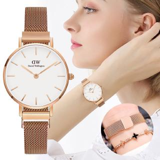 Ready Stock Women Magnet Buckle Strap Quartz Watch Hot Selling