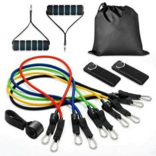 11pcs / Set Resistance Band Latex Fitness