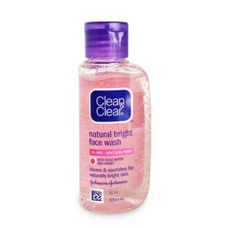 [50ml] Clean And Clear Natural Bright Face Wash