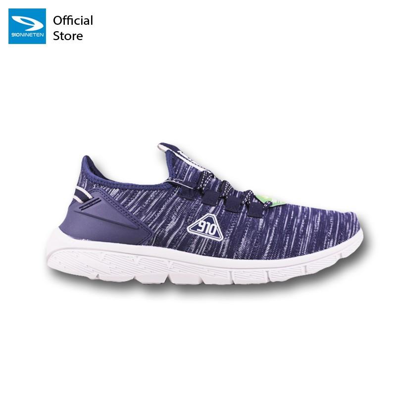 910 Nineten AMARU  Sepatu Running Unisex Biru/Abu