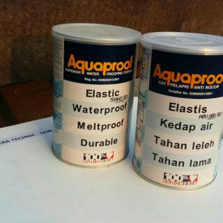 AQUAPROOF/ CAT PELAPIS ANTI BOCOR 1 KG