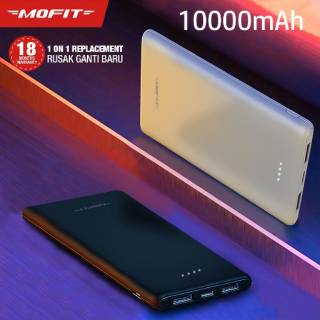 Powerbank MOFIT M11 10.000mAh + Fast Charge Real Capacity