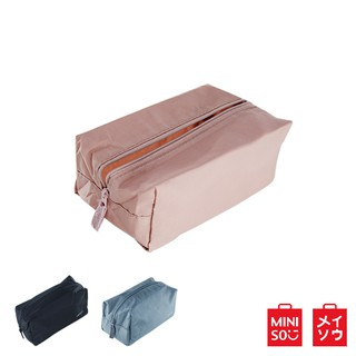 Miniso Official Tas kosmatik MINIGO Portable Zippered Cosmetic Bag Makup Jewelry Travel Multifungsi