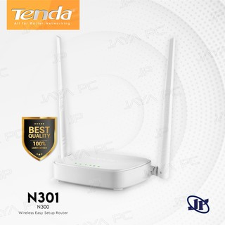 Tenda N301 N300 WiFi Wireless Router Extender 300Mbps Easy Setup Repeater