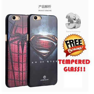 SILIKON SUPERHERO Oppo F1s A59 soft case back cover casing bumper hp ASLI