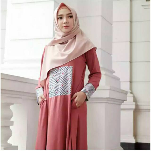 Etnik abaya by vanilla hijab