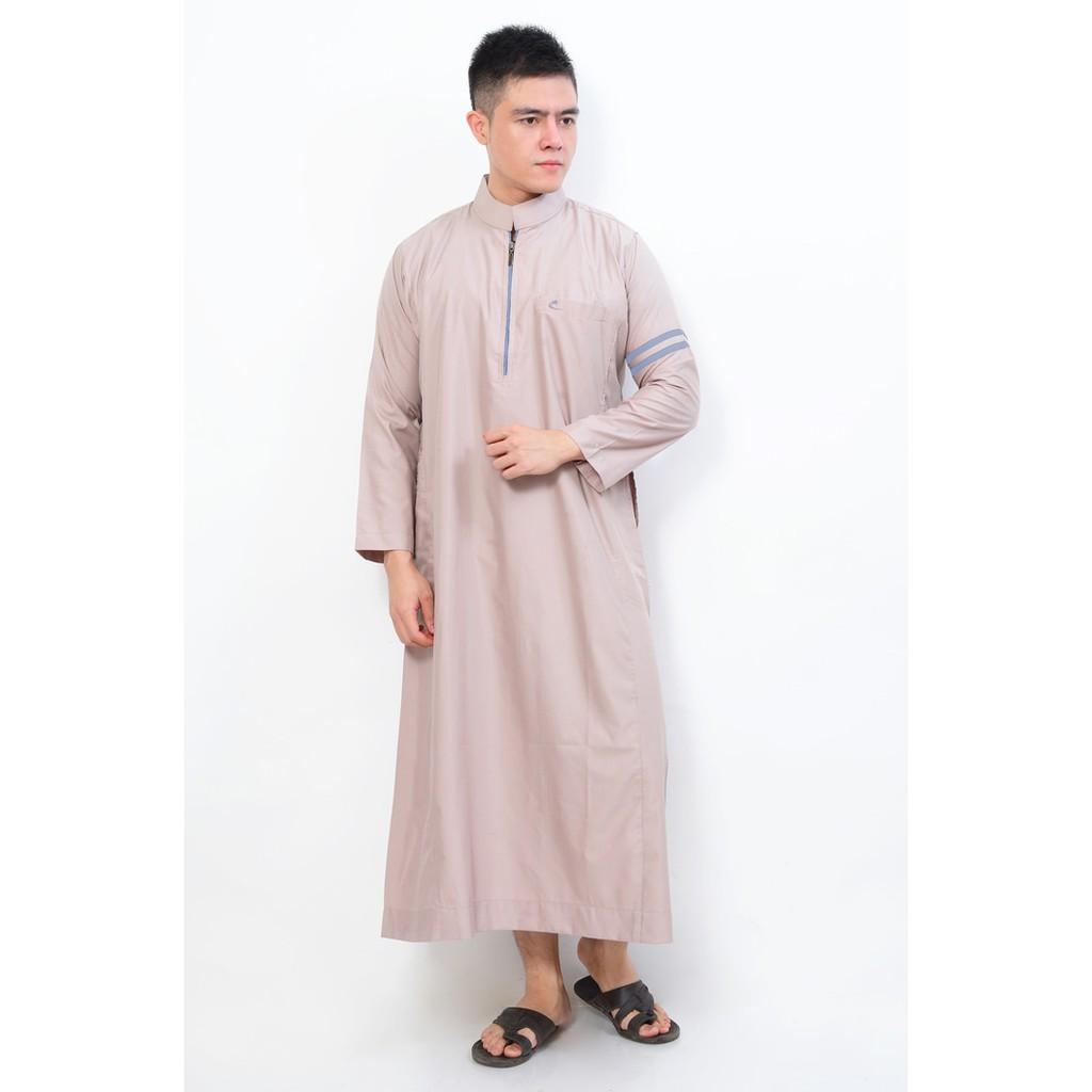 Al-isra JUBAH NABAWI Warna Pakaian Gamis Muslim Pria Okechuku