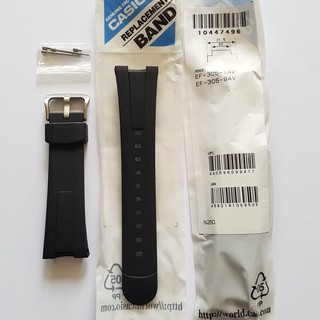 DISKON - STRAP EDIFICE EF-305 / CASIO ORIGINAL