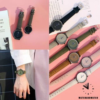 Fashion Couple watches Casual Jam Tangan pasangan Sederhana Dan Segar Versi Korea