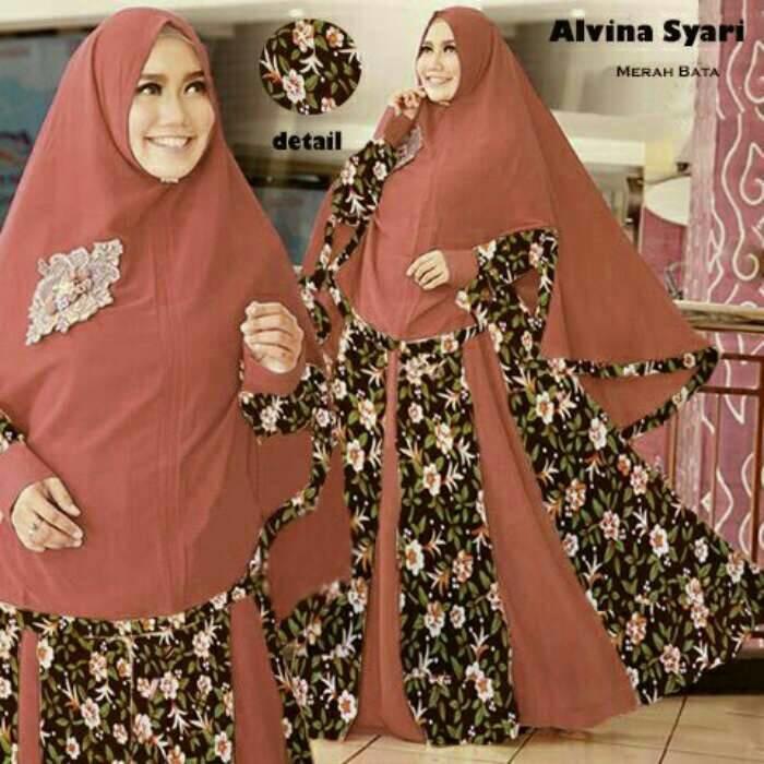 Branded Alvira Maxi Bata ,Hijau,Peach 3 Warna Big Sale!