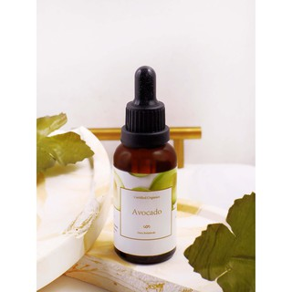 AVOCADO CARRIER OIL - MINYAK ALPUKAT - SUNSCREEN SPF 15 FOR SKIN & HAIR