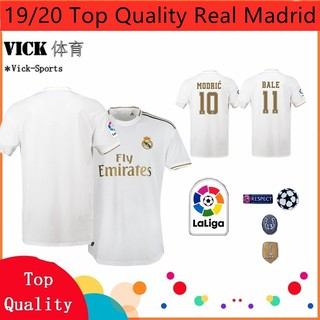 (Ready Stock) 19/20 Real Madrid Top Quality Home away 3rd Football Jersey TRaining shirt Gred AAA
