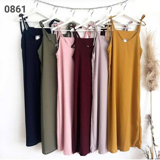 iseven p LOLA OVERALL DRESS | SLOPPY OVERALL MATT SPANDEX ALL SIZE FIT TO L