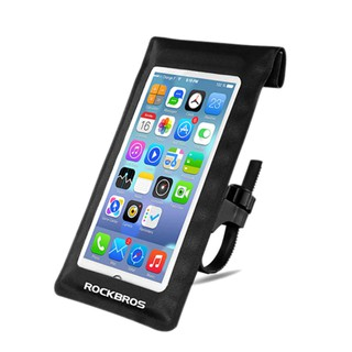 Holder HP Sepeda Rockbros Waterproof Mobile Phone Bag Bicycle Bag