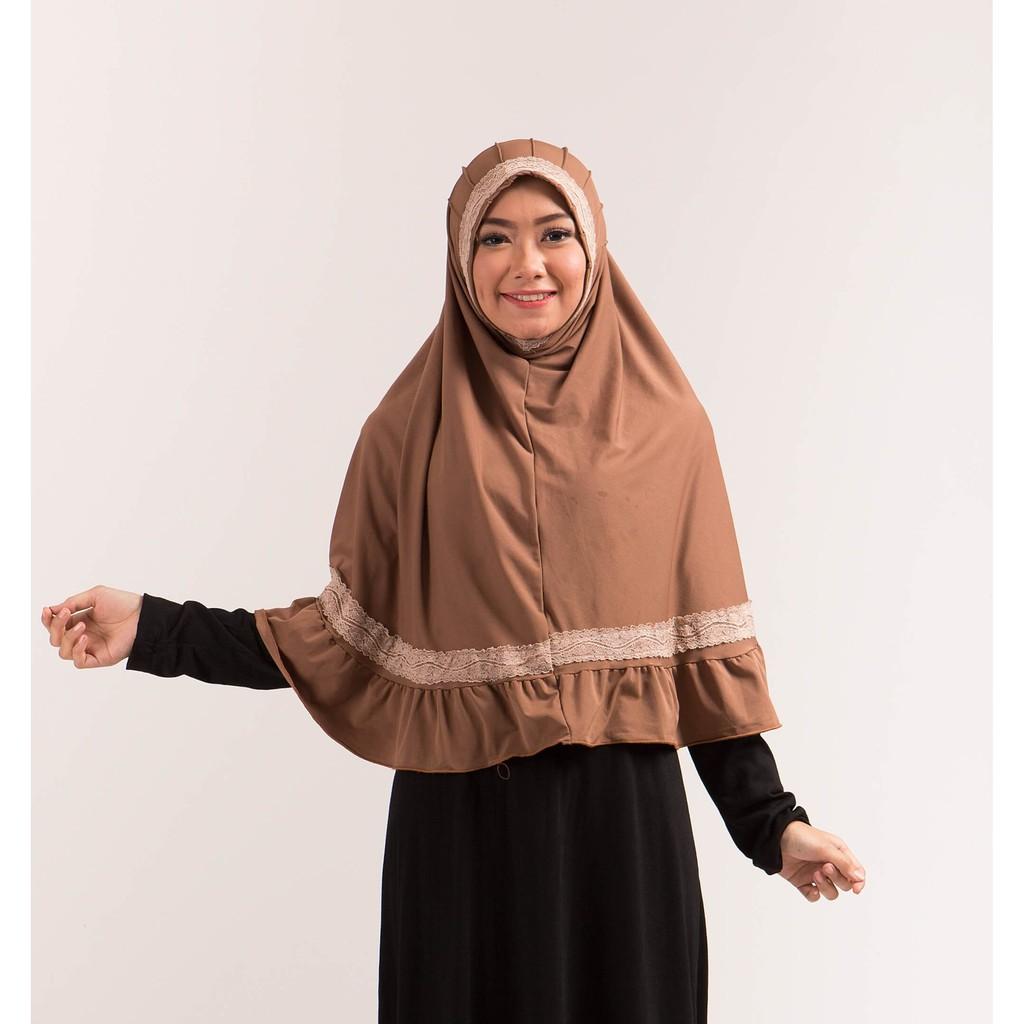 Promo | Gareu Hijab / Jilbab Bergo Muslimah Wanita – GAM 7214 Fashion|Murah |Diskon