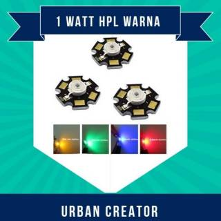 Lampu Led HPL 1 Watt  Grade A Plus Heatsink Bintang untuk Aquascape dan Project Kreativ
