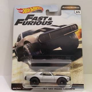 HOT WHEELS 67 OFF ROAD CAMARO - HOTWHEELS FAST AND FURIOUS