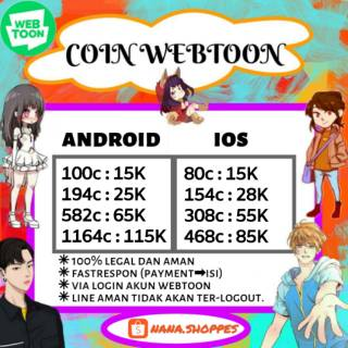Coin webtoon ios / coin webtoon andro