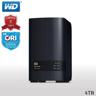 KSR42 WD My Cloud EX2 Ultra NAS Eksternal 4TB Gigabit Ethernet