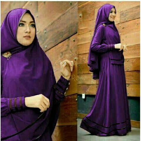 MT443 Gamis Syari Terbaru 2017 Murah Wanita Baju Murah Hijab Baju Pesta Baju Lebaran Modis Maxi New