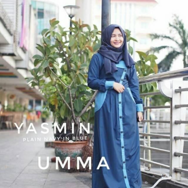 Gamis Syar'i Branded | Gamis Terbaru | Gamis Yasmin Umma