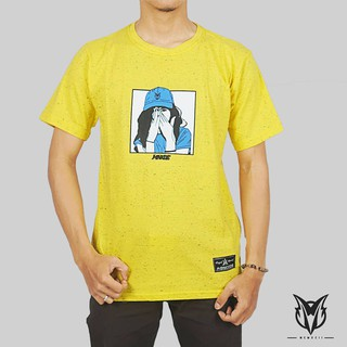 KAOS DISTRO TSHIRT COTTON COMBED 30S MOONOXIDE WANITA BERTOPI