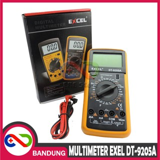 EXCEL DT-9205A DT 9205A DIGITAL MULTIMETER AVO AVOMETER MULTITESTER