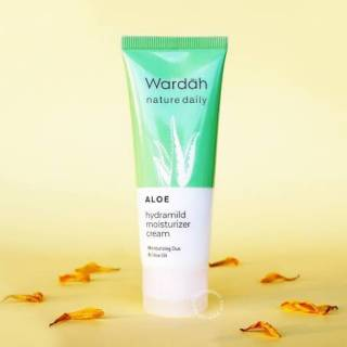 Wardah moisturizer cream ND aloe 40ml