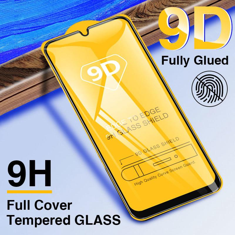 Samsung Galaxy A50 A30 A20 A60 A70 A80 A90 A10 a40 M10 M20 M30 9D Full Cover Screen Tempered Glass