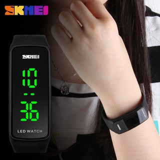 Jam Tangan Wanita Pria Digital LED SKMEI 1119 Water Resistant / Anti Air 50M