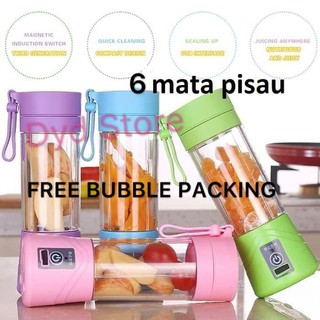 PROMO Juice Cup Blender Mini Portable/USB Blender Juicer/Alat Pembuat Jus