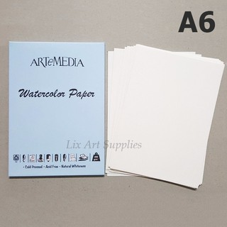 ARTeMEDIA Watercolor Paper A6 (12 lembar)